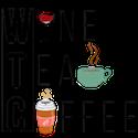 Wine Tea Coffee Logo